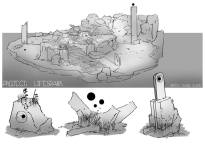 Shaun - Tomb Concept Art Rough