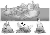Shaun - Tomb Concept Art Rough