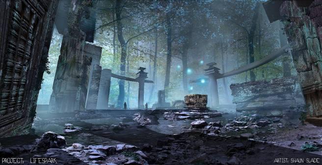 Shaun - Tomb Concept Art